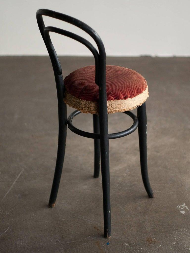 Thonet No. 14 children's chair, in original unrestored condition. Very elegant unique piece!