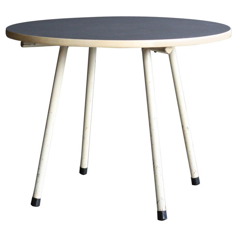 Gispen Dutch Design Side Table For Sale