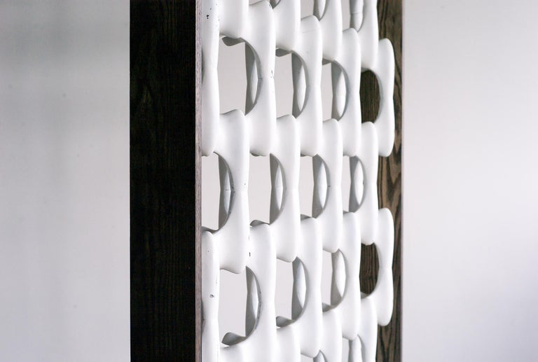 Stained Sculpta-Grille Screen by Richard Harvey For Sale