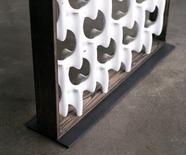 Sculpta-Grille Screen by Richard Harvey In Good Condition For Sale In Dronten, NL
