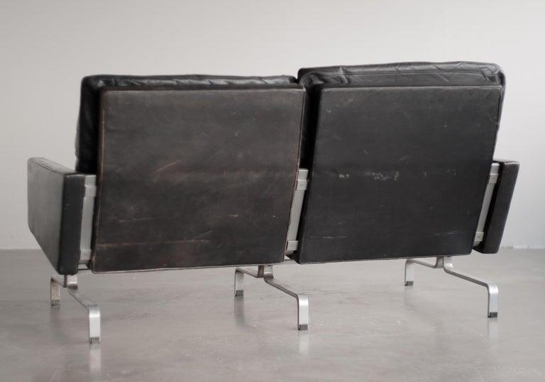 Scandinavian Modern Pk31/2 Sofa by Poul Kjaerholm For Sale