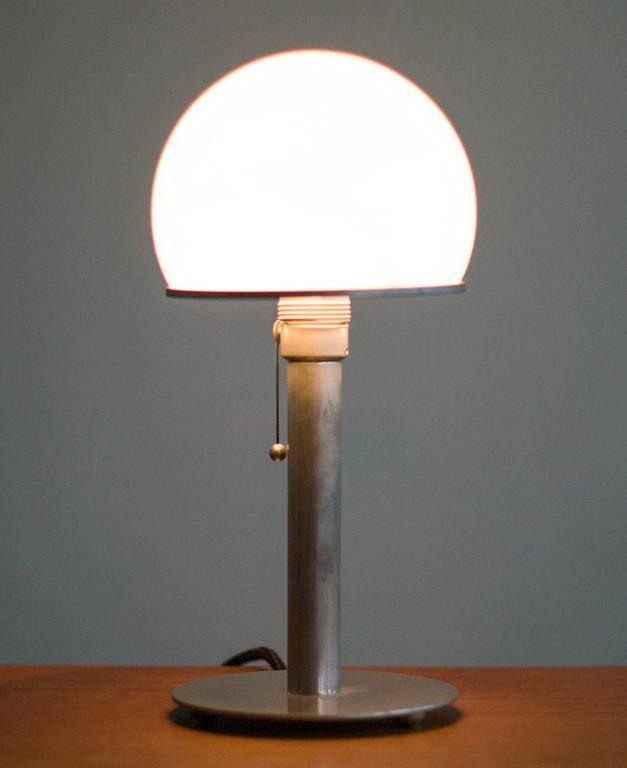 Wilhelm Wagenfeld Bauhaus Lamp At 1stdibs