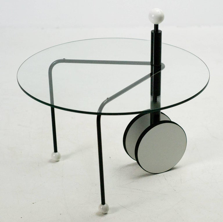 Post-Modern Postmodern Side Table by Michele De Lucchi For Sale