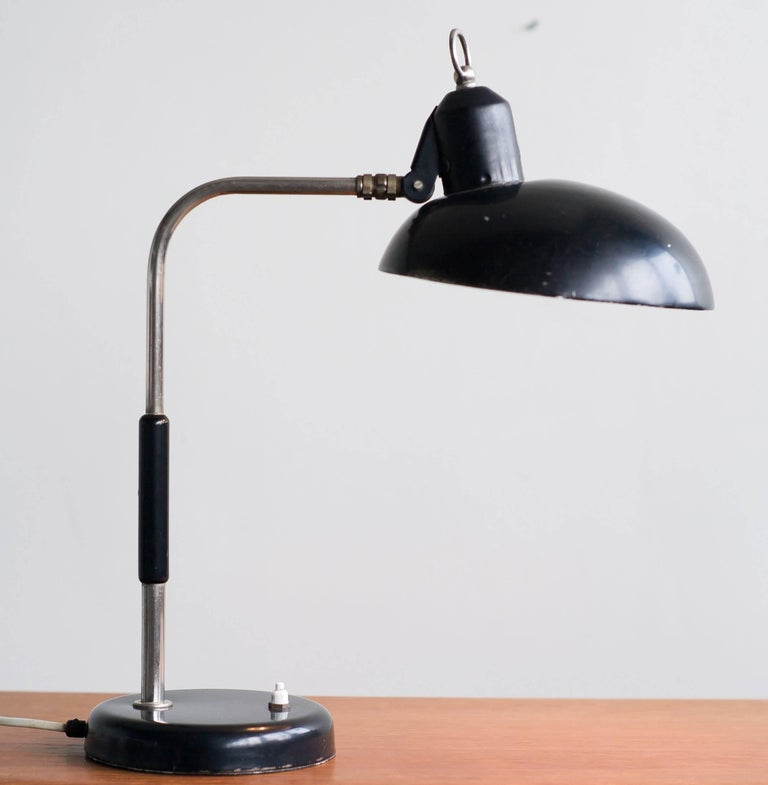 Mid-20th Century Sirius Schweinfurt SIS Desk Lamp For Sale