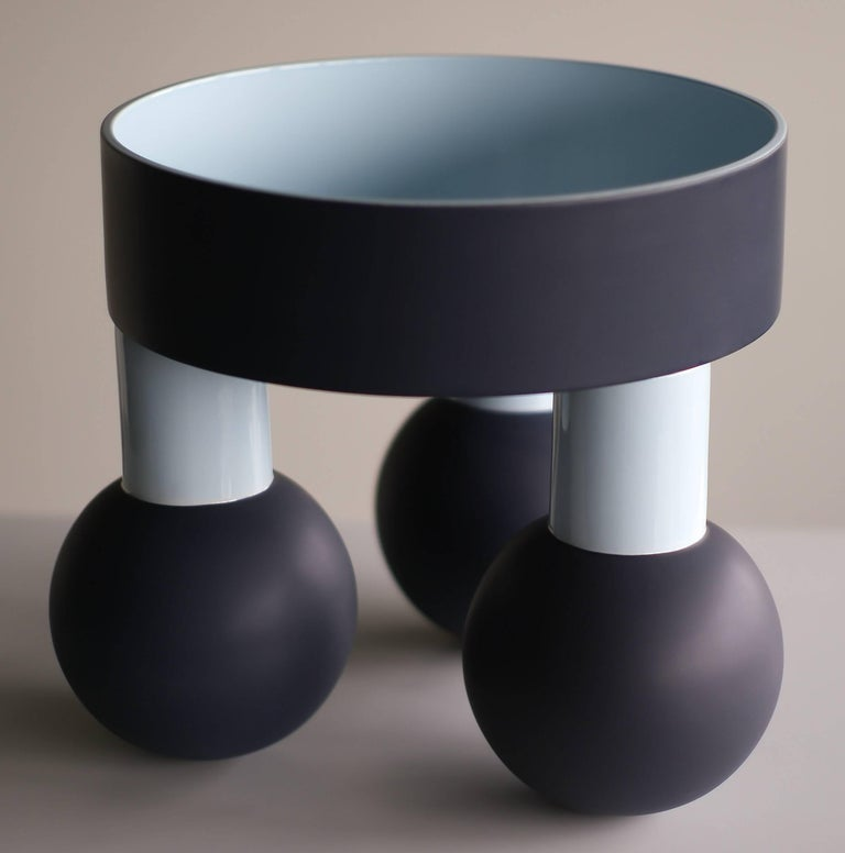 Beautiful large ceramic Sottsass Tarzan bowl, made in a limited edition of 100 pieces, signed and numbered.