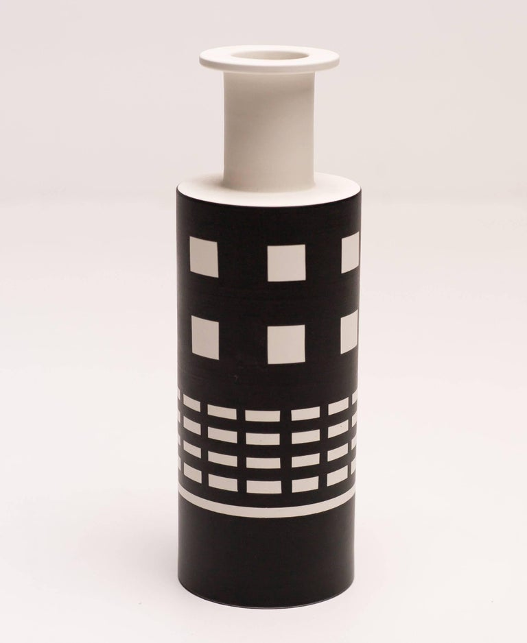 Rocchetto vase designed by Ettore Sottsass and made by Bitossi.
