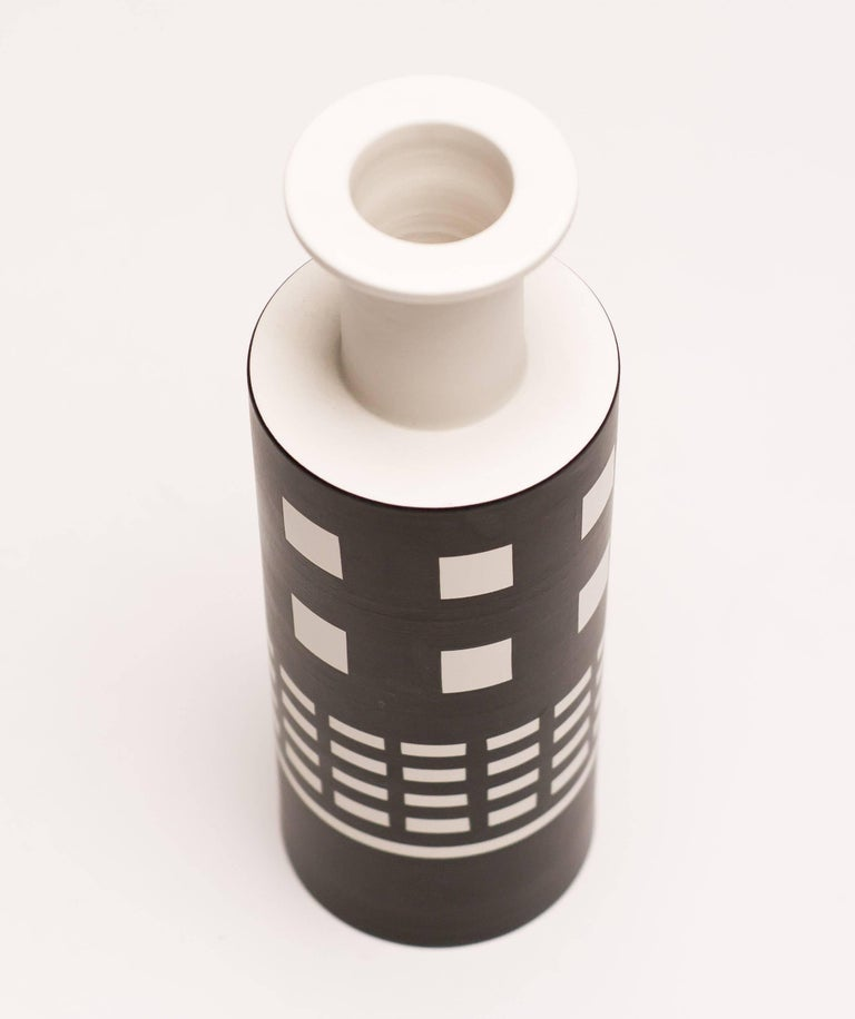 Post-Modern Rocchetto Ceramic Vase Designed by Ettore Sottsass For Sale