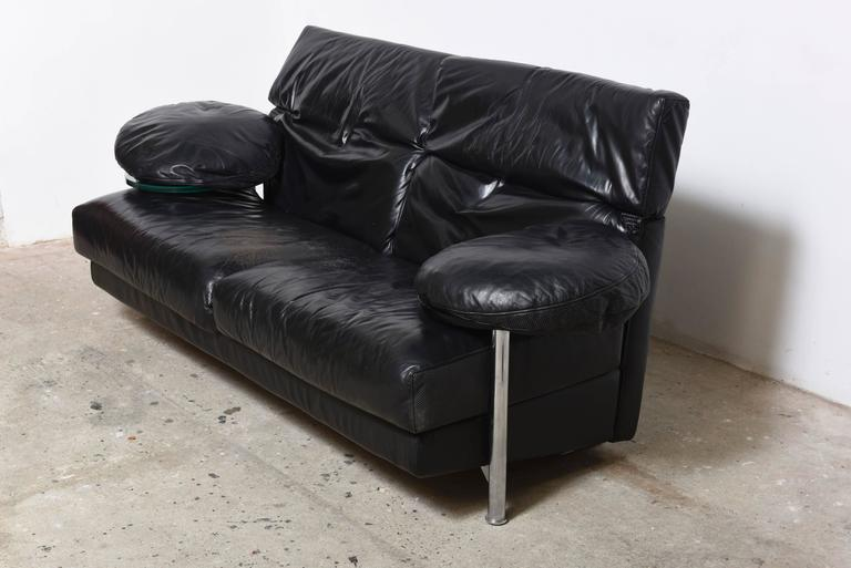 Italian Modern Two-Seat, Sofa by Paolo Piva for B & B Italia For Sale