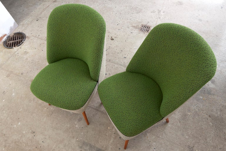Sitting Group of Green and Gray 1950s Coctail Lounge Chairs,Switzerland In Excellent Condition For Sale In Antwerp, BE