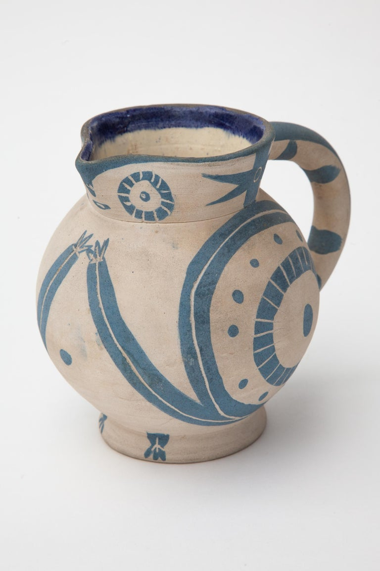French Pablo Picasso, Madoura Ceramic Pitcher,