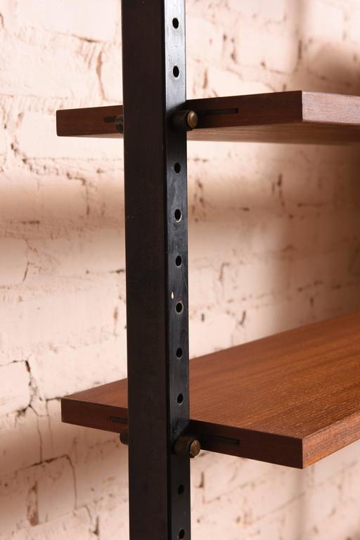 Scandinavian Danisch Modular Bookcase Royal System Wall Unit For Sale