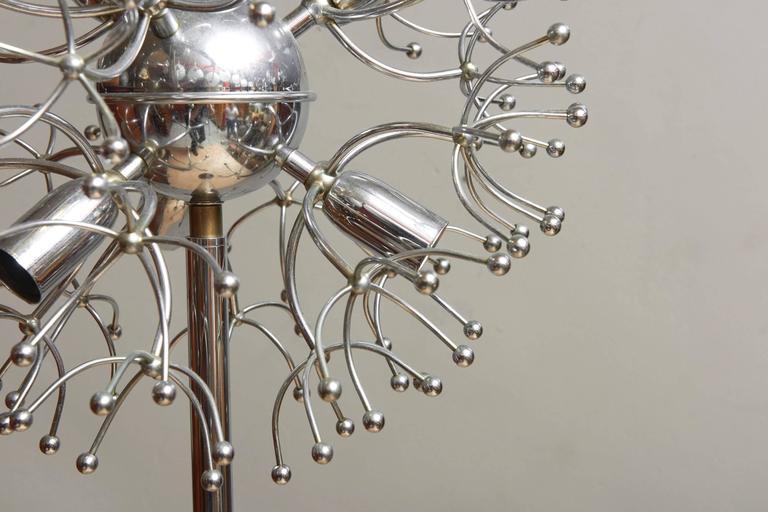 Mid-20th Century Iconic Sputnik Spider Floor Lamp, Italy, 1960s