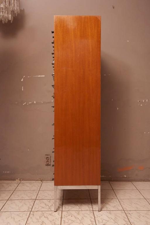 Mid-20th Century Massive Oak Cabinet with Drawers Designed by Kunstwerkstede de Coene For Sale