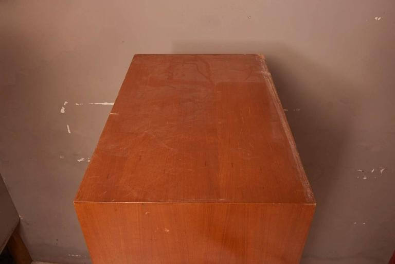 Massive Oak Cabinet with Drawers Designed by Kunstwerkstede de Coene For Sale 1