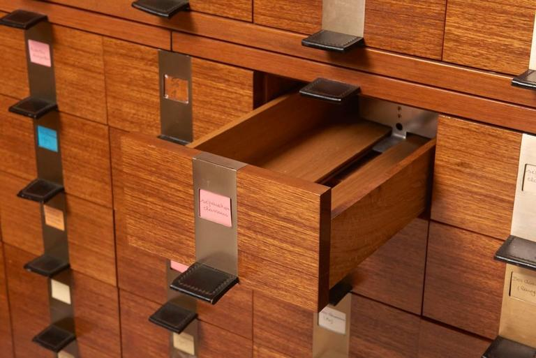Belgian Cabinet with 45 Drawers Designed by Philippe Neerman for De Coene, Belgium For Sale