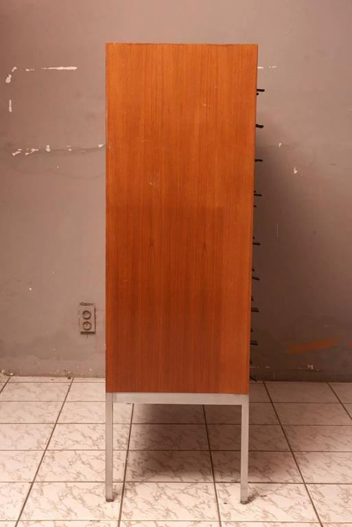 Mid-20th Century Cabinet with 45 Drawers Designed by Philippe Neerman for De Coene, Belgium For Sale