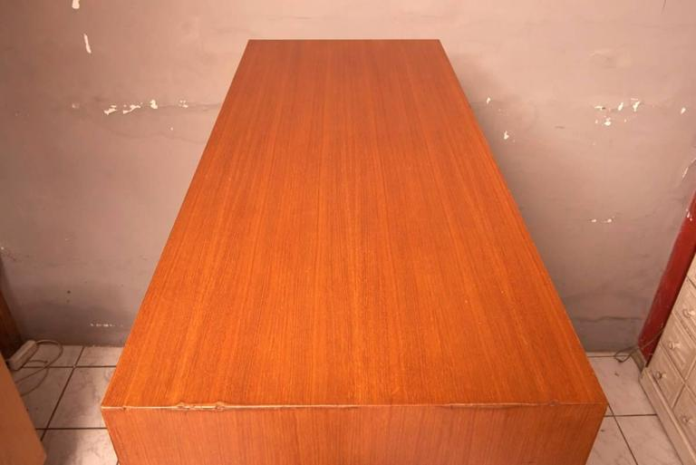 Leather Cabinet with 45 Drawers Designed by Philippe Neerman for De Coene, Belgium For Sale