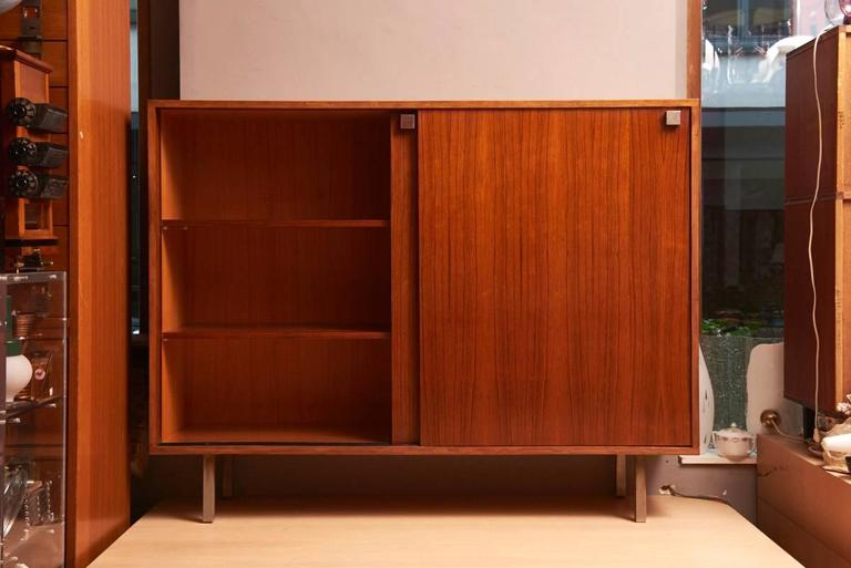 Belgian Rosewood High Sideboard Designed by Alfred Hendrickx by Belform, 1968 For Sale