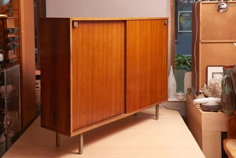 Rosewood High Sideboard Designed by Alfred Hendrickx by Belform, 1968 In Good Condition For Sale In Antwerp, BE