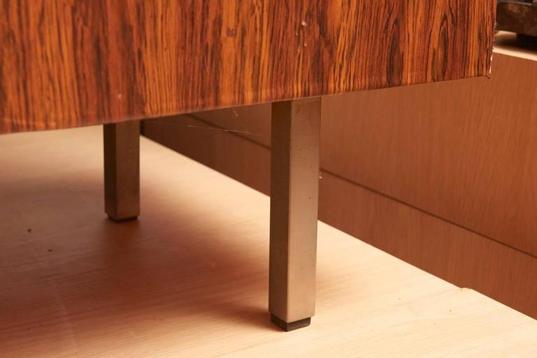 Rosewood High Sideboard Designed by Alfred Hendrickx by Belform, 1968 For Sale 2