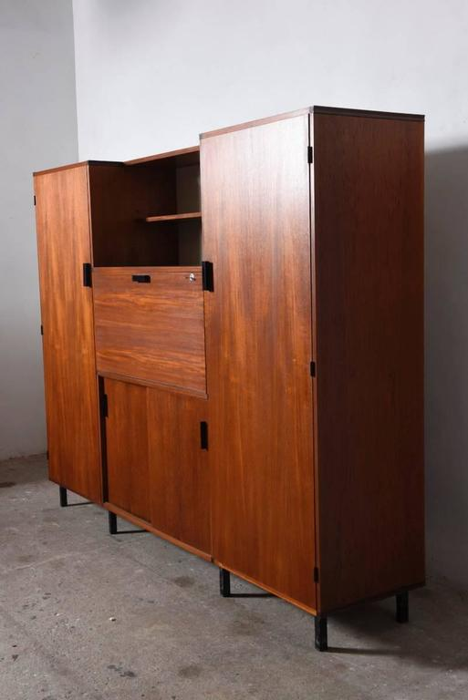 Wardrobe Designed By Cees Braakman 1950s For Pastoe At 1stdibs