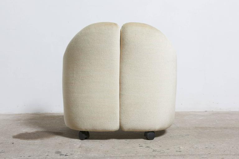 """Set of Six Eugenio Gerli for Tecno """"142"""" Chairs, 1970s, Italy In Excellent Condition For Sale In Antwerp, BE"""