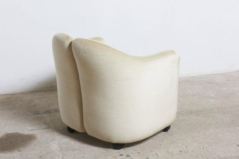 """Late 20th Century Set of Six Eugenio Gerli for Tecno """"142"""" Chairs, 1970s, Italy For Sale"""