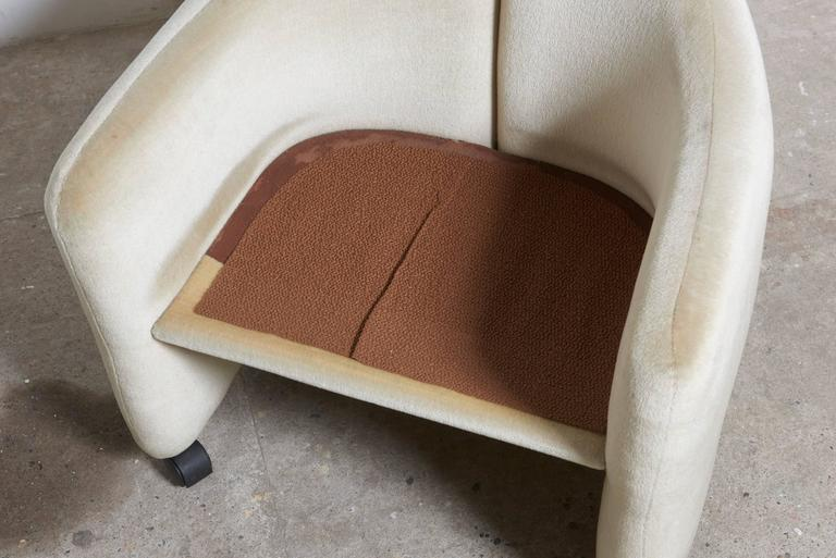 """Set of Six Eugenio Gerli for Tecno """"142"""" Chairs, 1970s, Italy For Sale 2"""