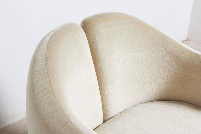 """Set of Six Eugenio Gerli for Tecno """"142"""" Chairs, 1970s, Italy For Sale 3"""
