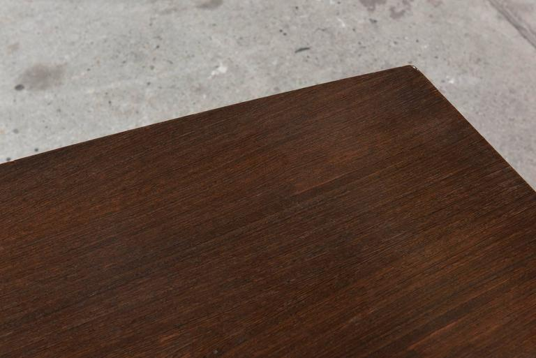 Belgian Large Wenge Conference-Dining Table, 1960s, Knoll International For Sale