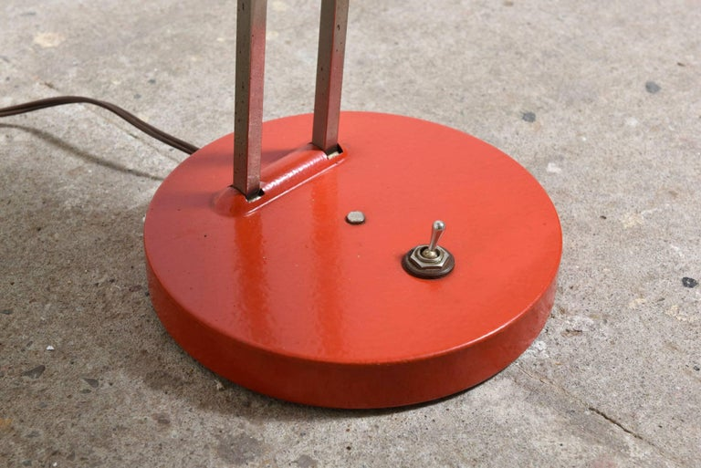 Red Kaiser Bauhaus Adjustable Desk Light For Sale At 1stdibs