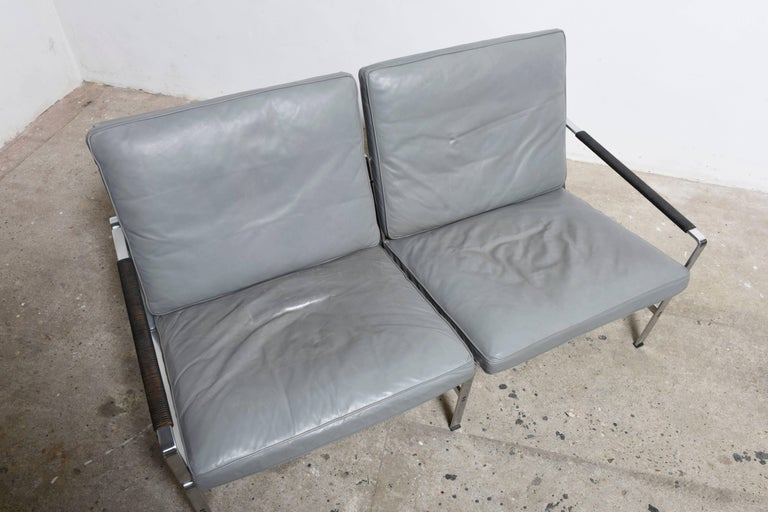 "Classics of Mid-Century Modernism ""Two-Seat Sofa by Fabricius and Kastholm"" 4"