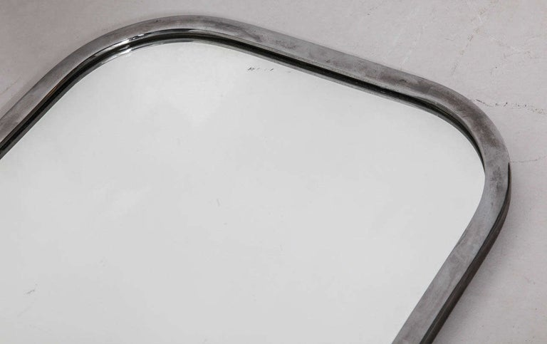 Art Deco Mirror with Opal Light In Good Condition For Sale In Antwerp, BE