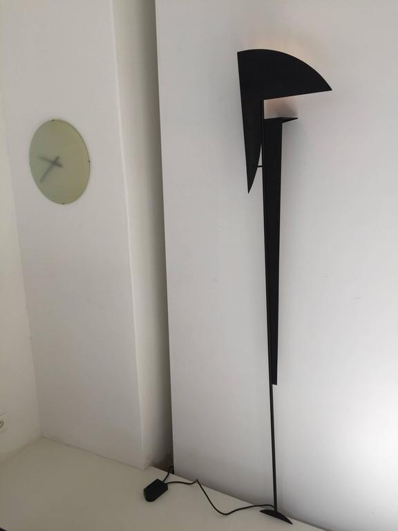 1970s Metal Floor / Wall Lamp Sculpture at 1stdibs