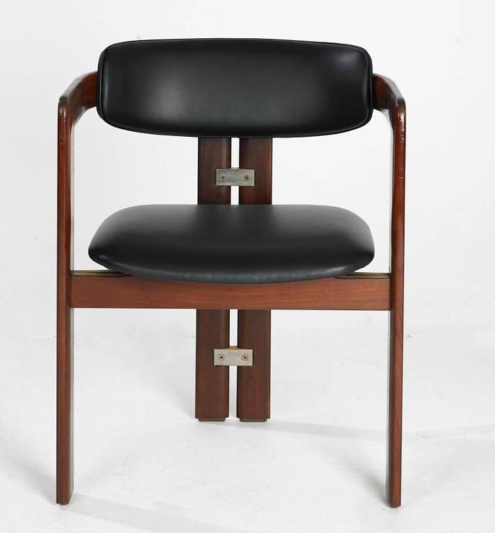 Unusual Furniture For Sale: Unusual Set Of Augusto Savini Pamplona Chairs For Pozzi