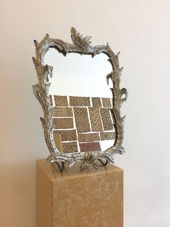1930 gilded wooden vanity table mirror for sale at 1stdibs for Vanity table and mirror for sale