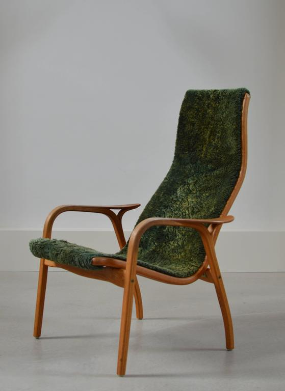 Rare 40th Anniversary Limited Edition Lamino Chair by Yngve Ekstrom For Sale at 1stdibs