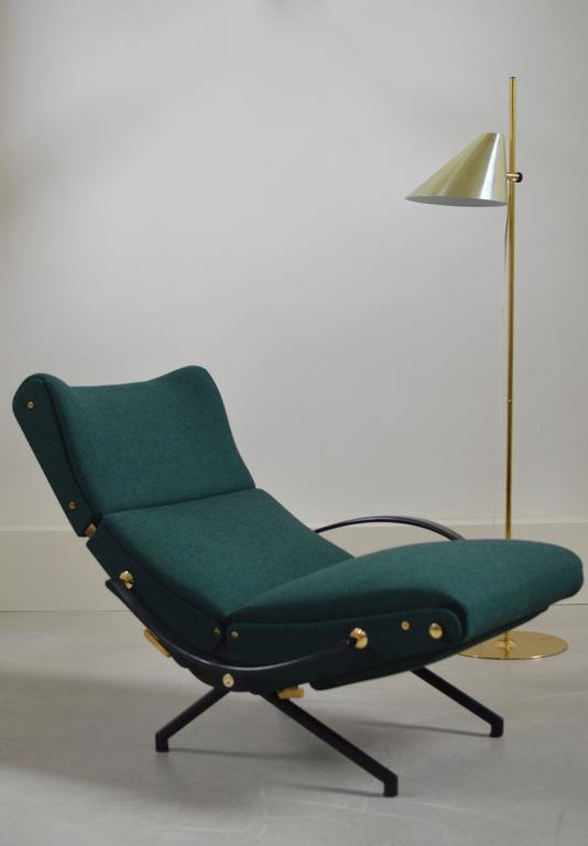 P40 Lounge Chair By Osvaldo Borsani Tecno At 1stdibs