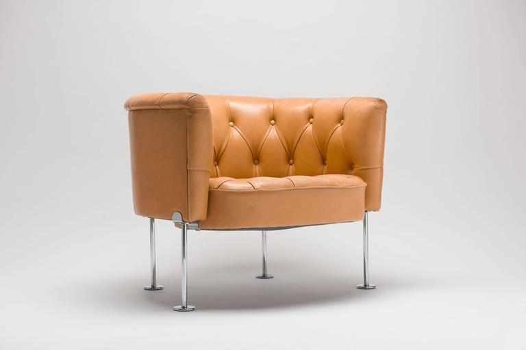 Robert And Trix Haussmann 1962 Diamond Pattern Club Chair