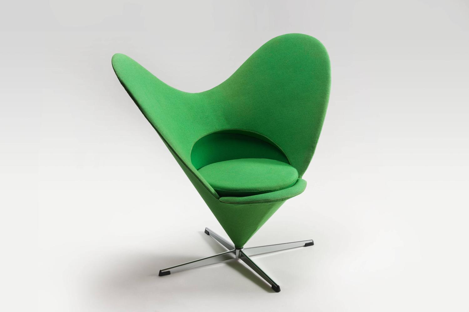 Heart chair verner panton heart cone chair by verner for Vitra replica deutschland