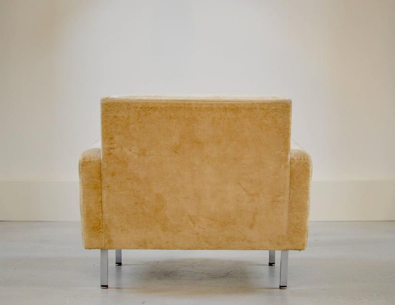 George Nelson Loose Cushion Armchair Herman Miller At 1stdibs