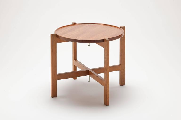 Turning tray table at35 by hans wegner for andreas tuck Andreas furniture