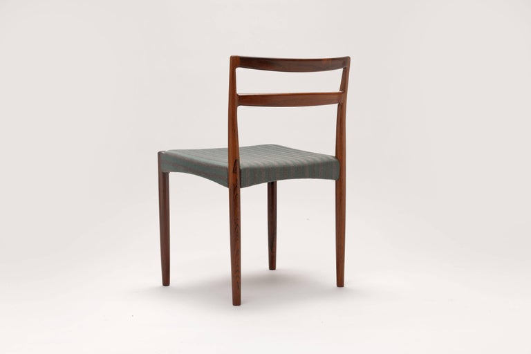 Danish Rosewood Dining Chairs by Harry Ostergaard In Excellent Condition For Sale In Utrecht, NL