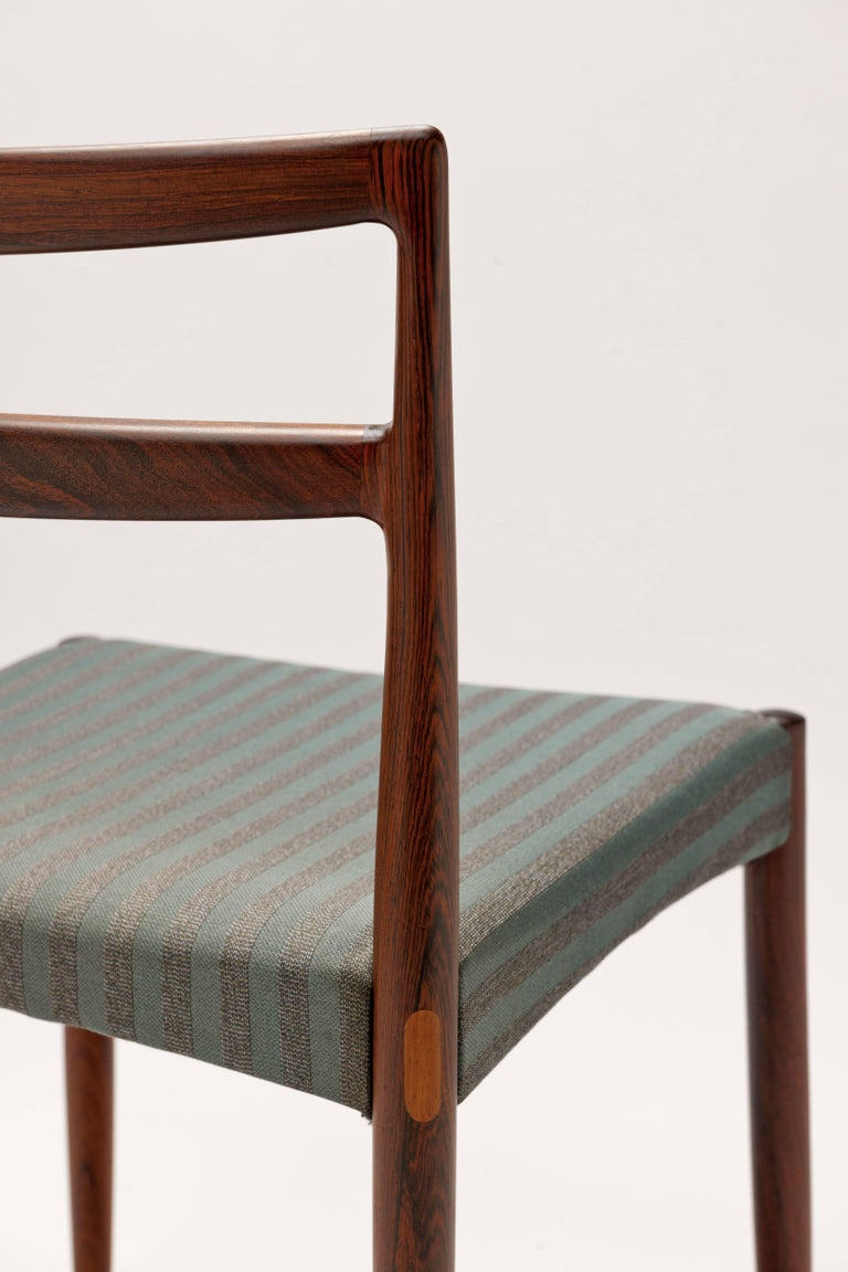 Danish Rosewood Dining Chairs by Harry Ostergaard For Sale 2