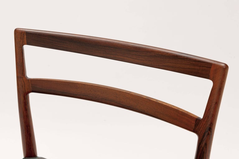 Danish Rosewood Dining Chairs by Harry Ostergaard For Sale 3