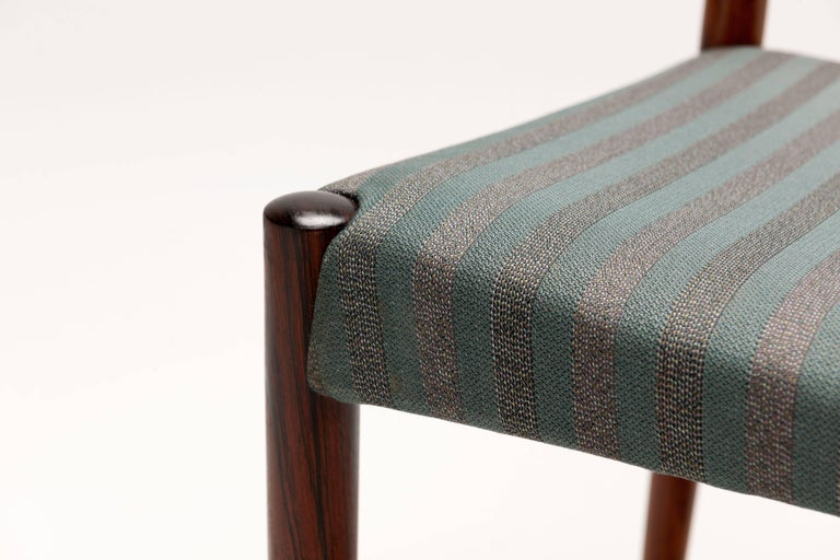 Danish Rosewood Dining Chairs by Harry Ostergaard For Sale 4