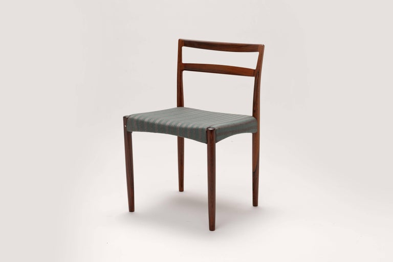 Danish Rosewood Dining Chairs by Harry Ostergaard For Sale 1