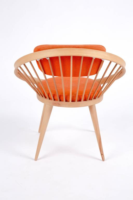 Scandinavian Modern Circle Chair Of Yngve Ekström For Sale