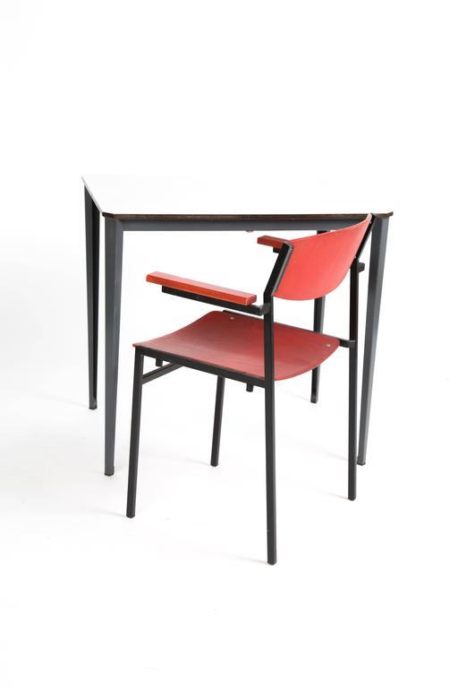 Mid-Century Modern TABLE WIM RIETVELD Ahrend de Cirkel Industrial Dutch Design  For Sale