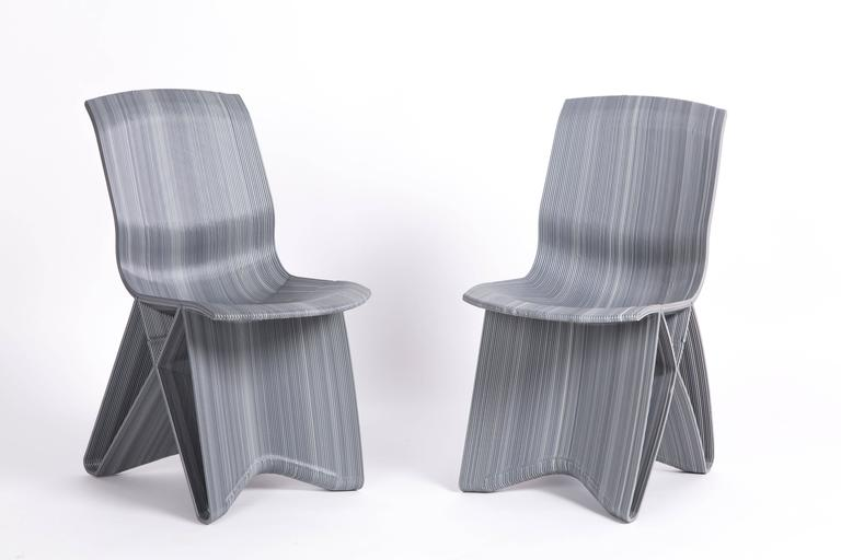 Dutch Design Chair chairs Endless Chair 3d Printed Of Recycled Fridges Dutch Design Van Der Kooy 2